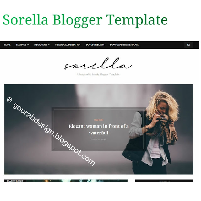 Sorella beauty blogger template latest version