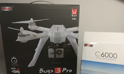 Review MJX Bugs 3 Pro Drone Brushless Dengan GPS Super Murah