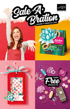 Sale-a-brations Products FREE with minimum purchase!