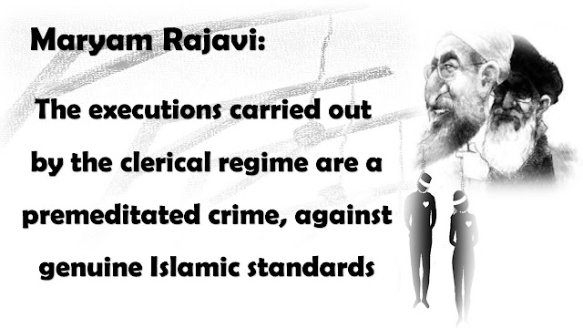 Iran-MESSAGE OF MARYAM RAJAVI ON THE WORLD DAY AGAINST DEATH PENALTY: