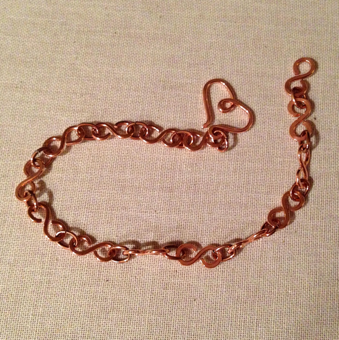 Free Wire Jewelry Tutorial for Infinity Link Chain Bracelet at Lisa Yang's Jewelry Blog