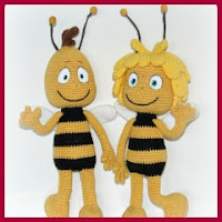 MAYA Y WILLY AMIGURUMIS