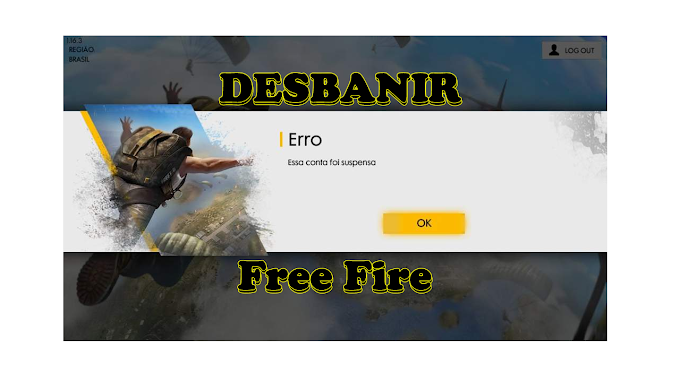 Desbanir Conta do Free Fire no Facebook