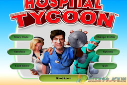 Free Download and Play Game Hospital Tycoon for Computer PC or Laptop