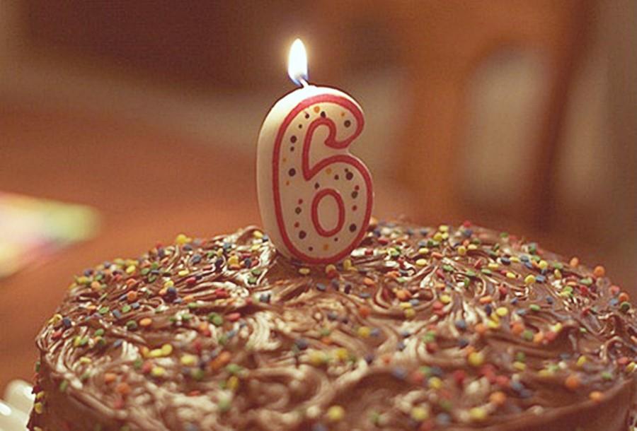 6 anos de Blog 🎂!