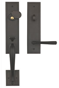 image result for Pacific Entries oil rubbed bronze handleset Rockwell San Jose