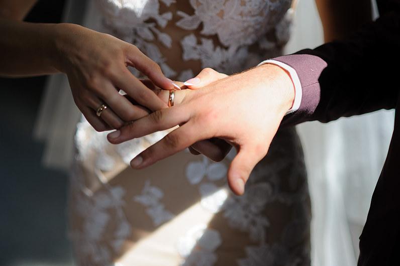 vestuvės Mosėdžio šv. arkangelo Mykolo bažnyčioje