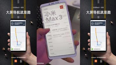 Mi Max 3 battery