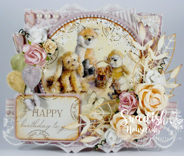 "Craft Smorgasbord - Pion ""Theodore & Bella"" Using Gummiapan Dies and  Roxstamp 