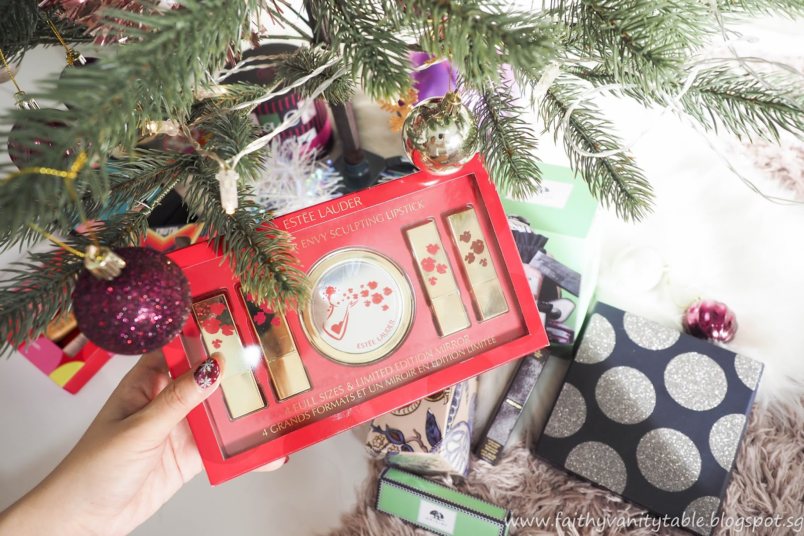 este lauder christmas gift sets 2017 review