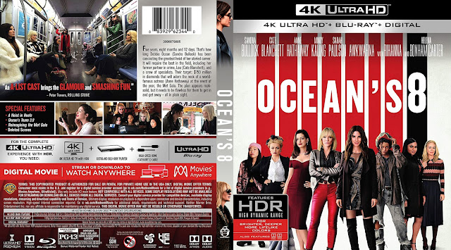 Ocean's Eight 4k Bluray