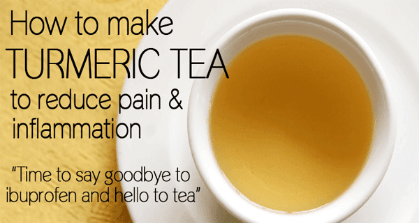 How To Make Turmeric Pain Relief Tea