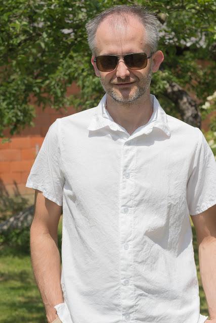 DIY Stoffhose für Männer nach einem kostenlosen englischsprachigen Schnittmuster + DIY Herrenhemd nach einem Burdaschnitt