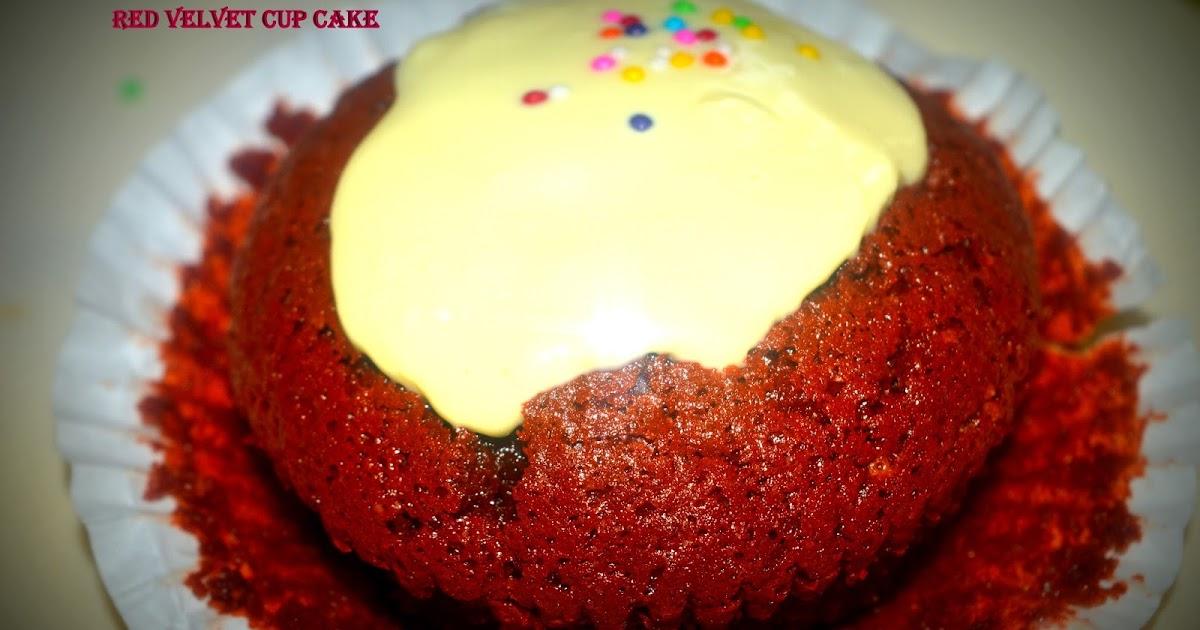 Red Velvet Cake With Rice Flour