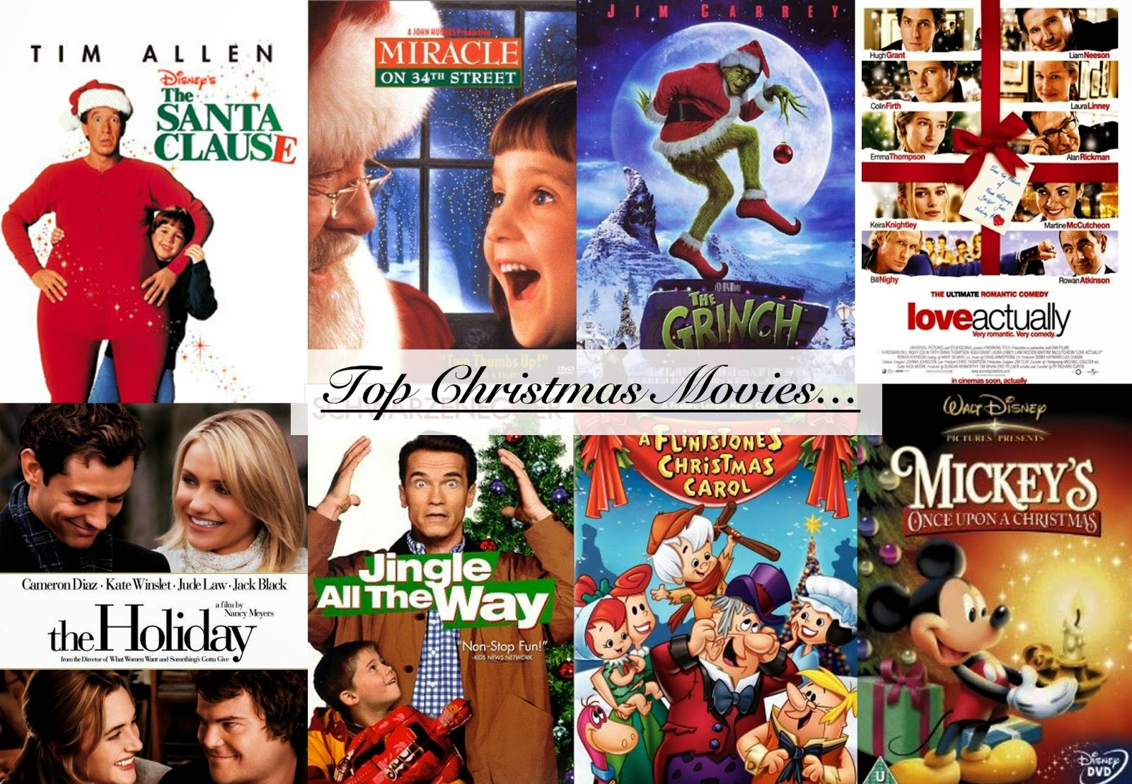 Life Is Worth The Fight: BLOGMAS DAY 10 || Top Christmas Movies...