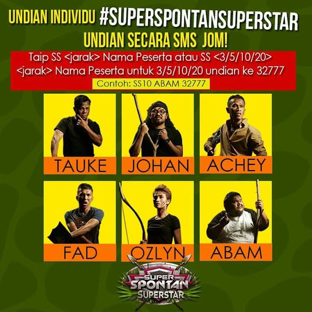 Siapa Juara Super Spontan SUPERSTAR 2016