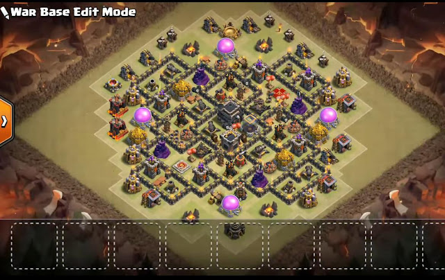 Best Th9 War Base 2017 With Bomb Tower Anti Everything Anti Valkyrie Anti 2 Star Anti 3 Star