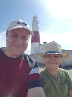 Dan Jon and Flyfour at Portland Bill