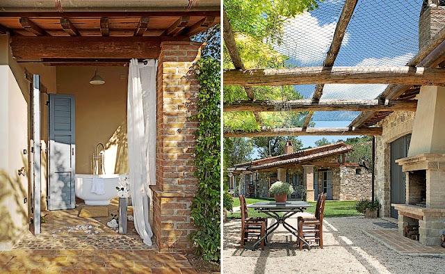 The Farmhouse in Collazzone