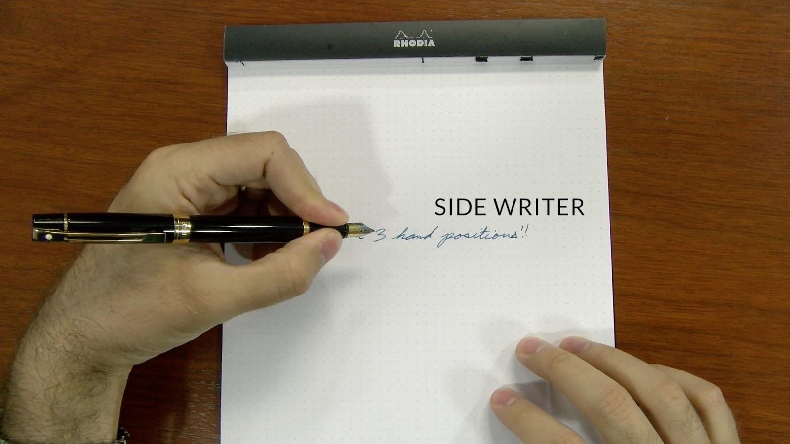 Fp101 Fountain Pens For Lefties Goulet Pens Blog