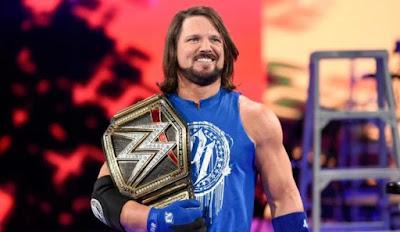 WWE A J Styles Wallpaper