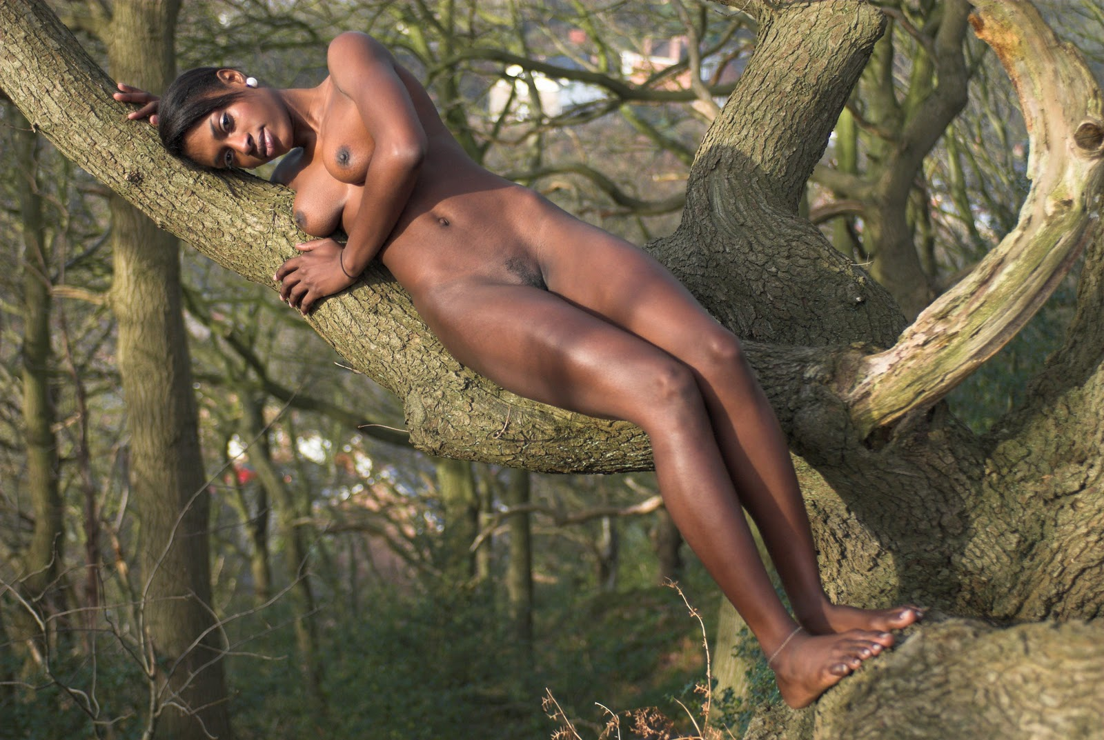 Nude photo girl afrika excellent