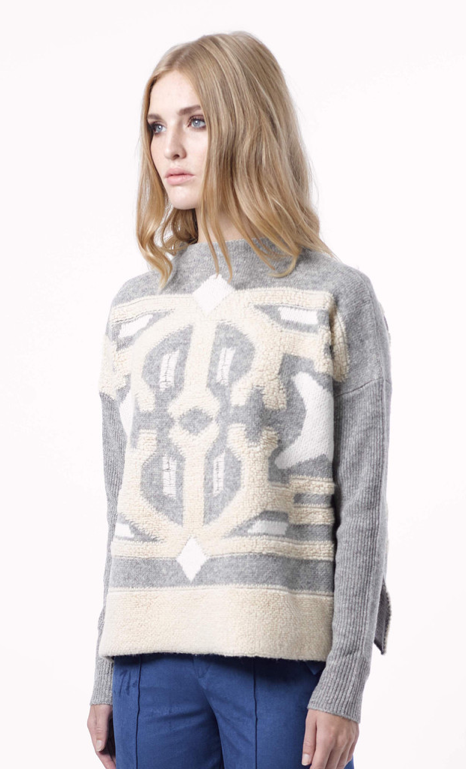 "That coveted sweater - ""Devra"" from House of Dagmar"