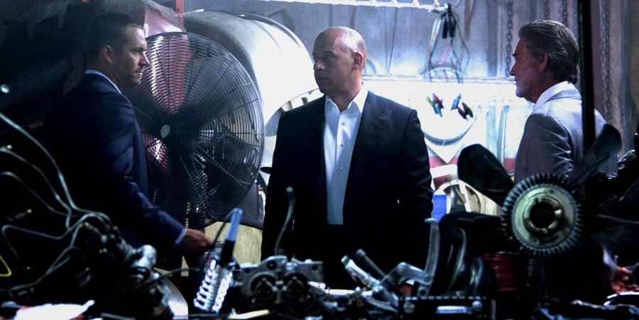 Paul Walker, Vin Diesel şi Kurt Russel pe platourile de filmare Fast And Furious 7