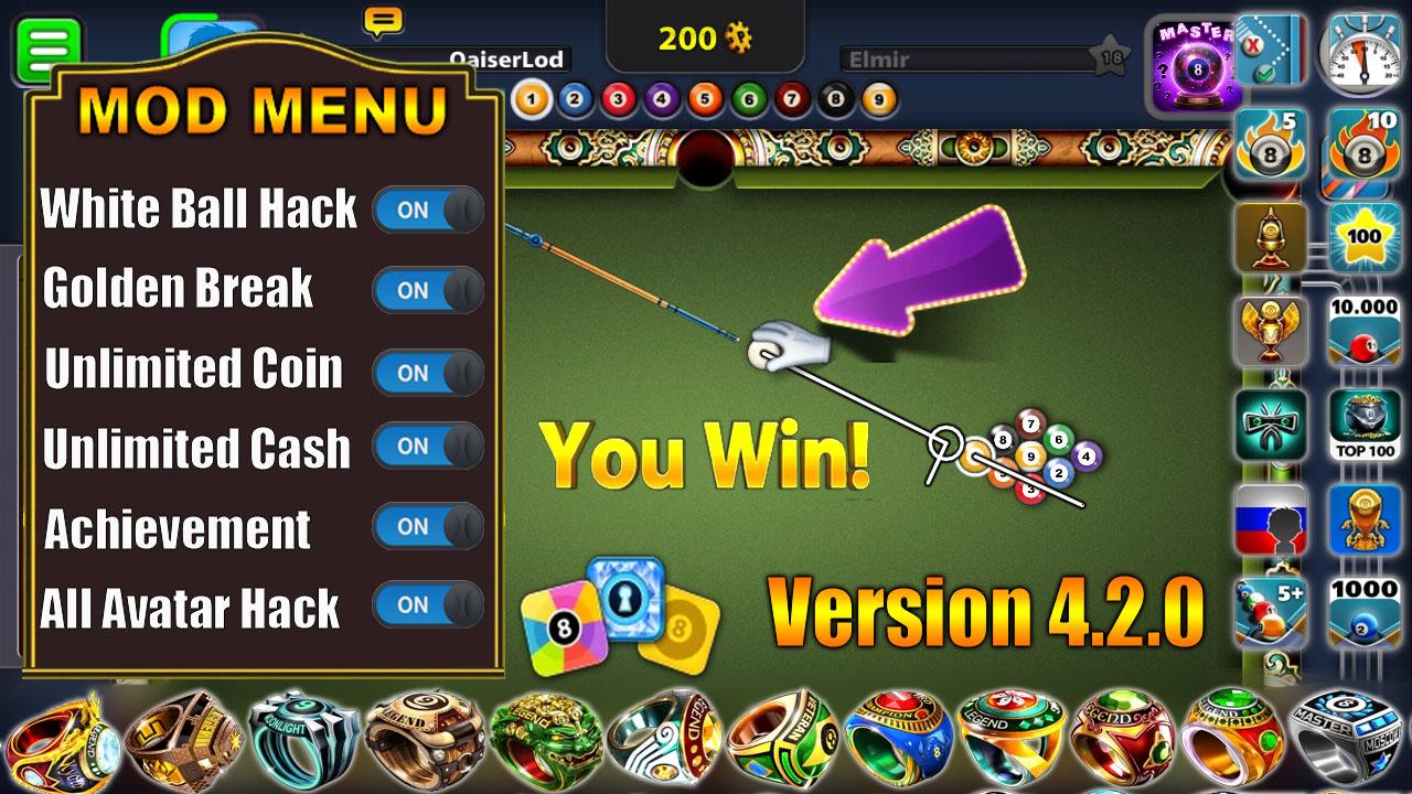 Top 12 8 Ball Pool Hack Mod Apk 4 2 0 Download - Gorgeous Tiny