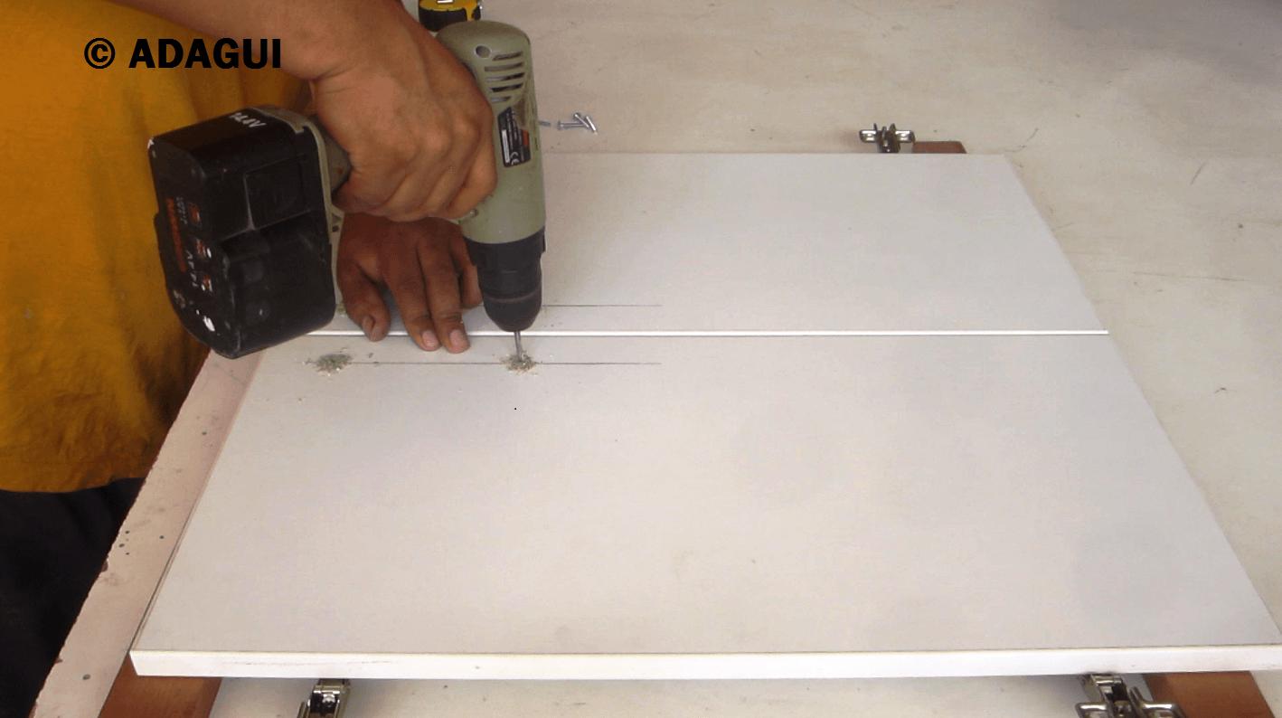Puertas de melamina como colocar manijas web del for Curso de carpinteria en melamina pdf