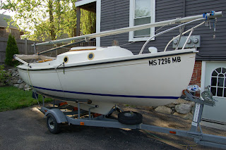 For Sale In Beverly Mass 1979 Compac 16 Sailboat 4 000