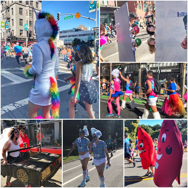 Bay to Breakers costumes collage