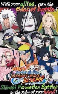 Download Game Unlimate Ninja Blazing Apk
