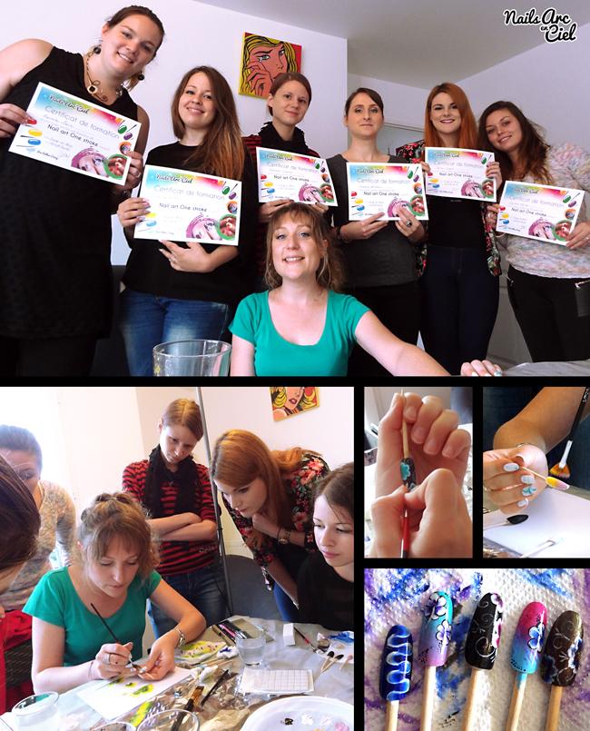 Formation et ateliers nail art tous niveaux partout en France avec Nails Arc en Ciel
