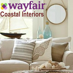 Coastal Interiors Living at Wayfair