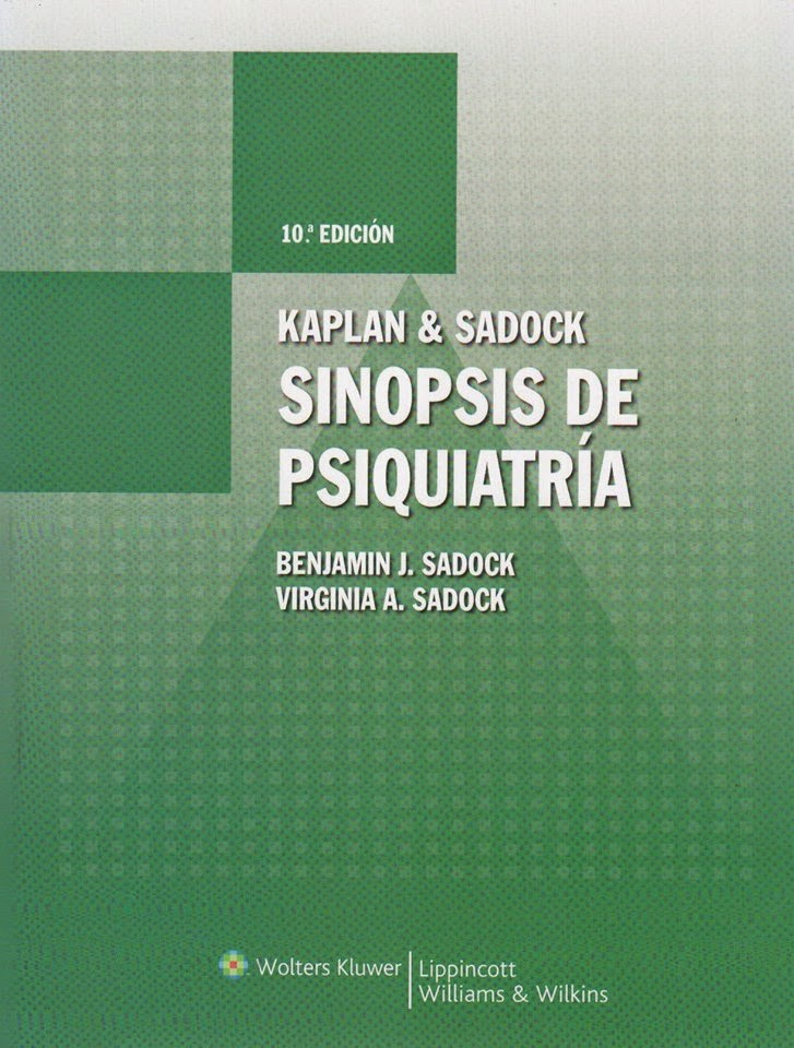 psiquiatria de kaplan pdf descargar gratis