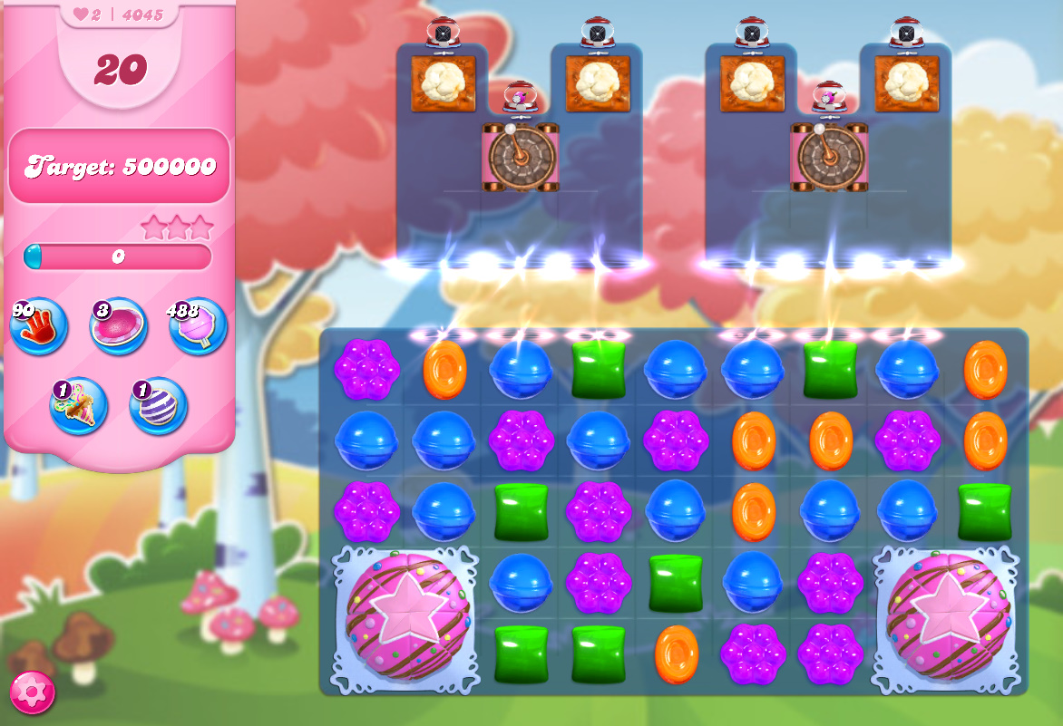Candy Crush Saga level 4045