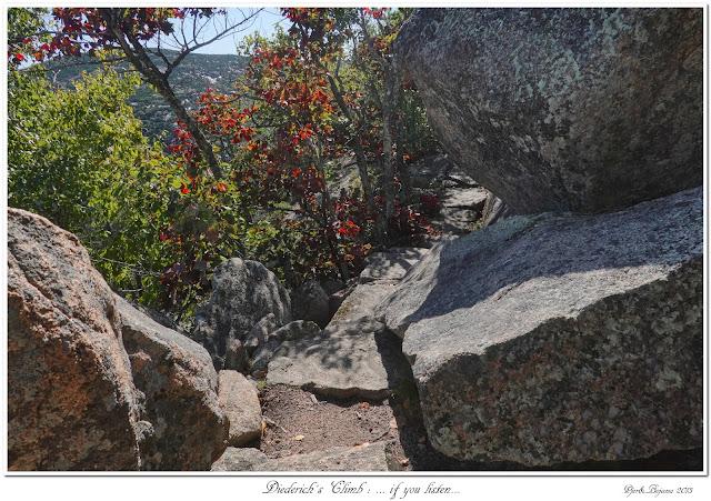 Diederich's Climb: ... if you listen...