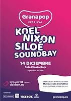 Confirmaciones Festival Granapop 2019