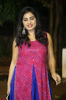 Srushti in beautiful Pink Sleeveless Dress Cute Actress Dimples ~  Exclusive 042.JPG