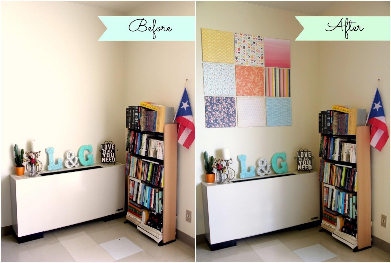 DIY: Canvas Wall Art - Little Island Takara