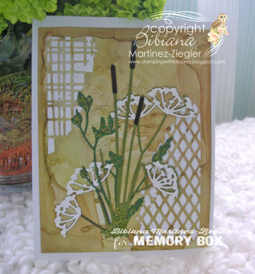 wild pond flowers card front