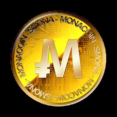 MonaCoinのフリー素材(金貨ver)