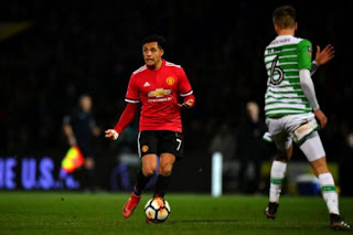 Video Debut Impresif Alexis Sanchez Bersama Manchester United