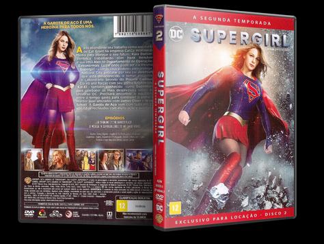 Capa DVD Supergirl - Segunda Temporada - Disco 2 (Oficial)
