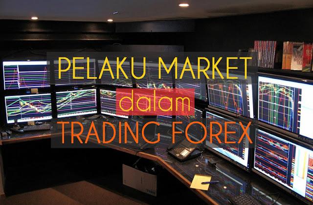 pelaku pasar trading forex