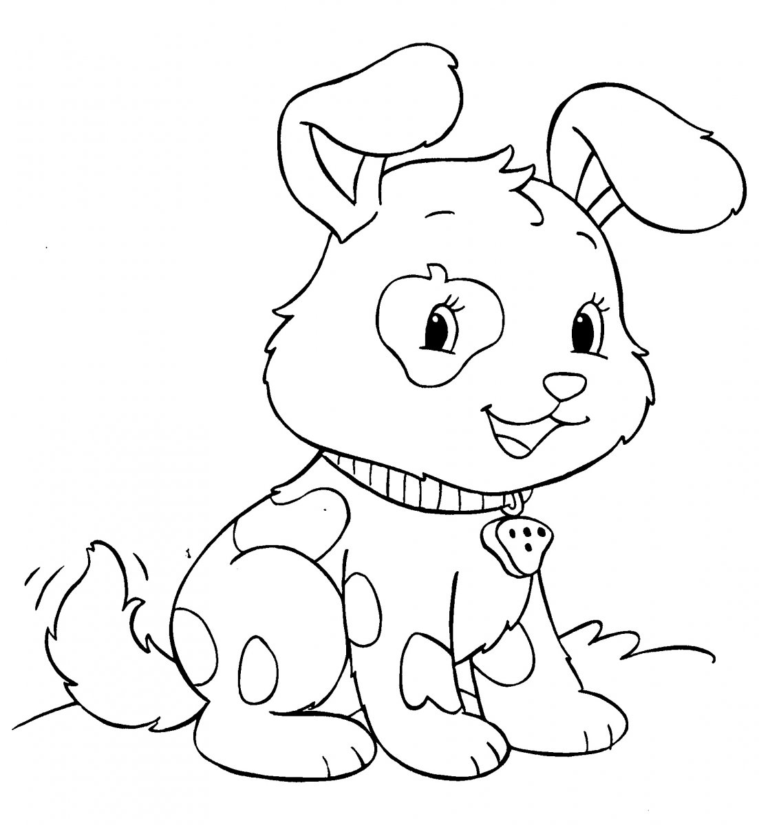 Dibujos de Perritos para colorear  Dibujos para Nios