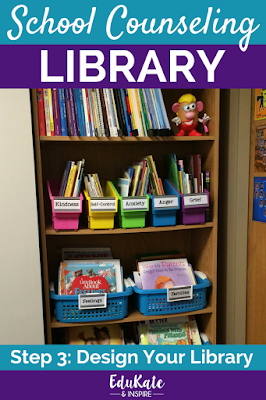 How to Organize Your School Counseling Library