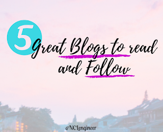 5 Great Blogs-bloggers to read and Follow