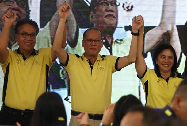 Liberal Party headed by PNoy, Mar Roxas and Leni Robredo names 12-person senate slate